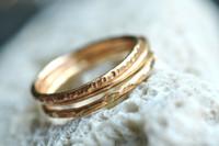 14k gold filled stacking rings