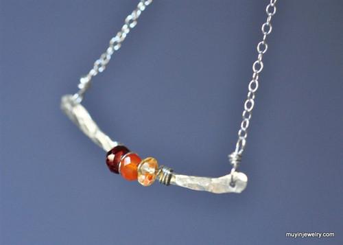 Design Your Own birthstone gemstone necklace