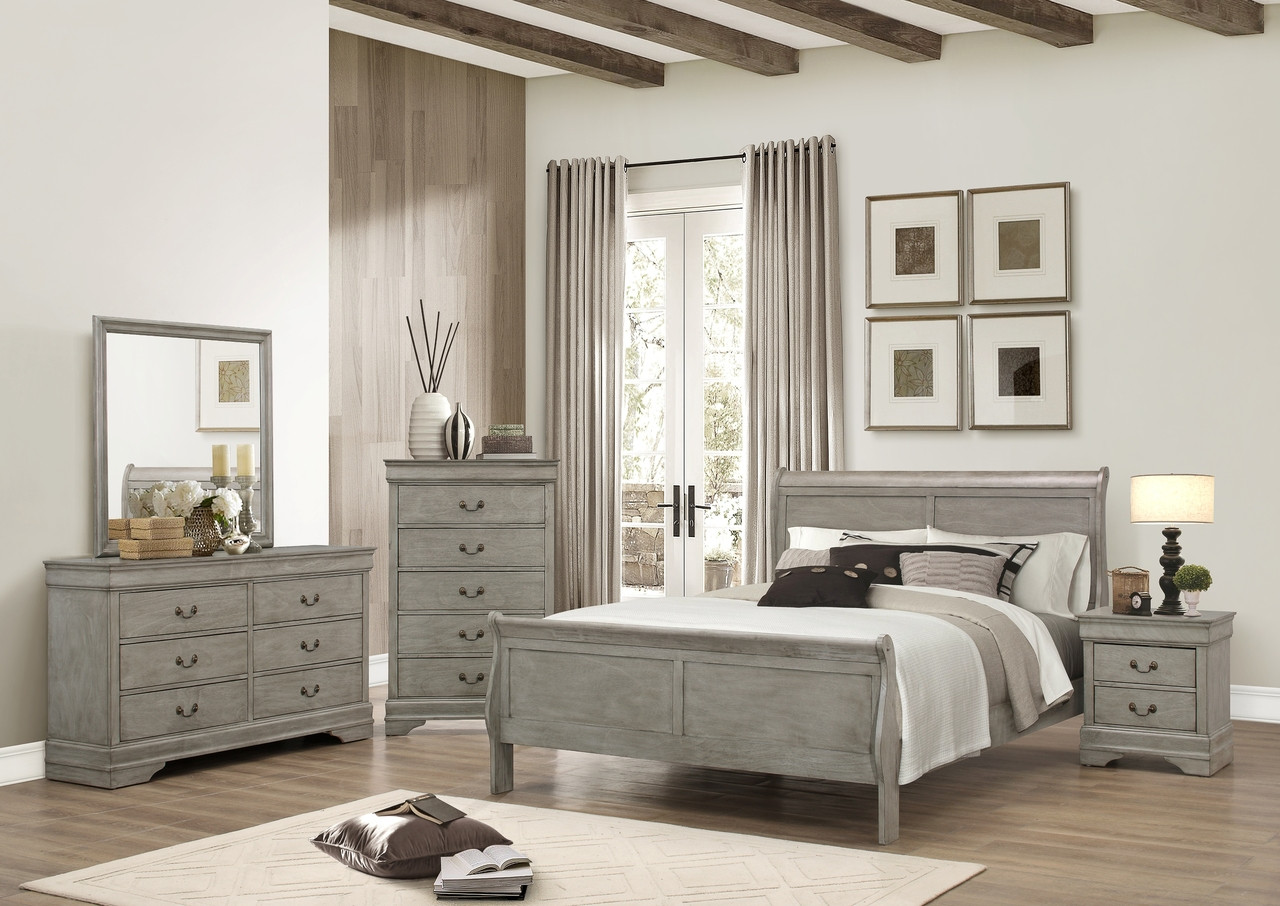 The Louis Philip 7-Piece Queen Bedroom Set available at Starfine ...
