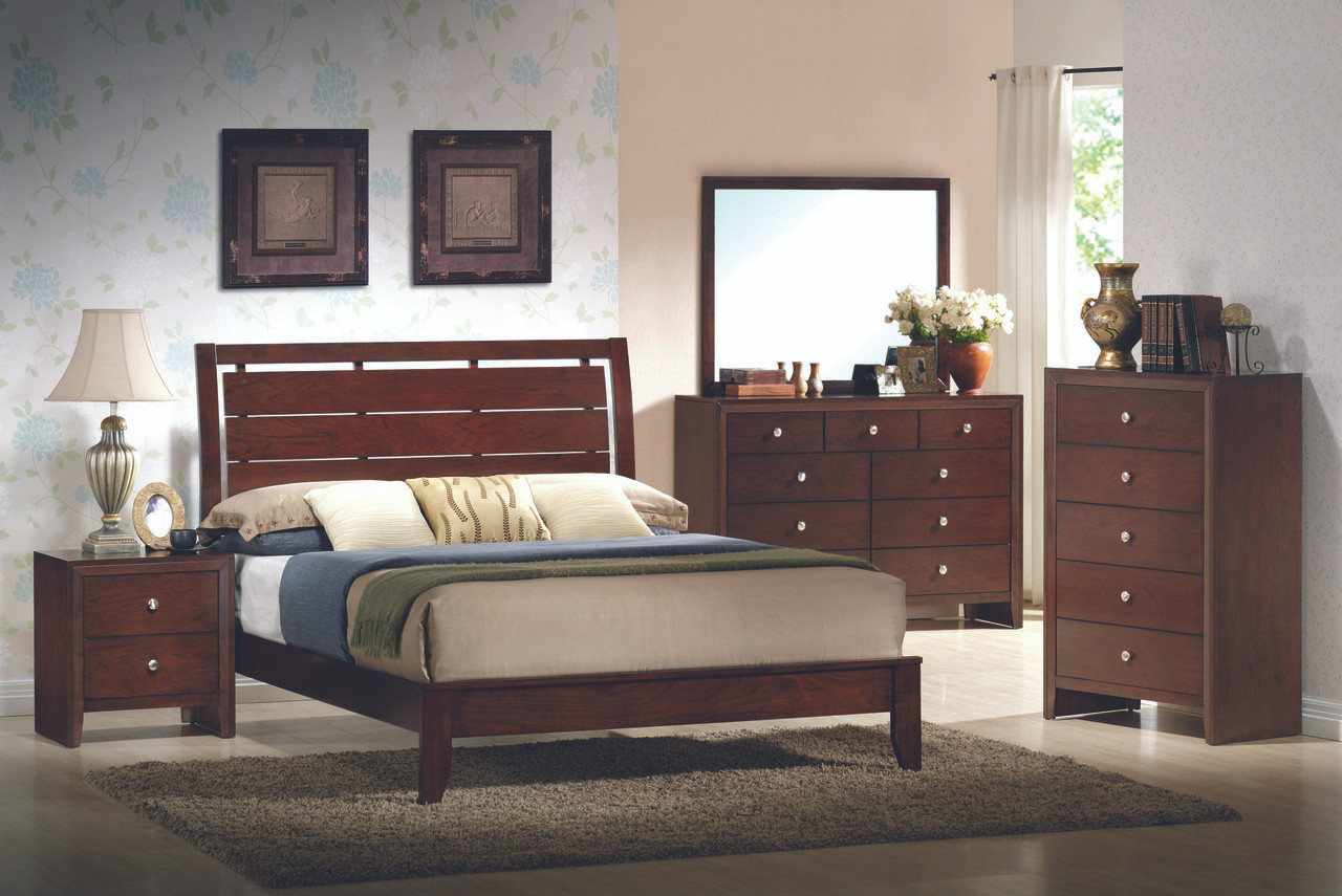 The Evan 7-Piece King Bedroom Set available at Starfine Furniture ...