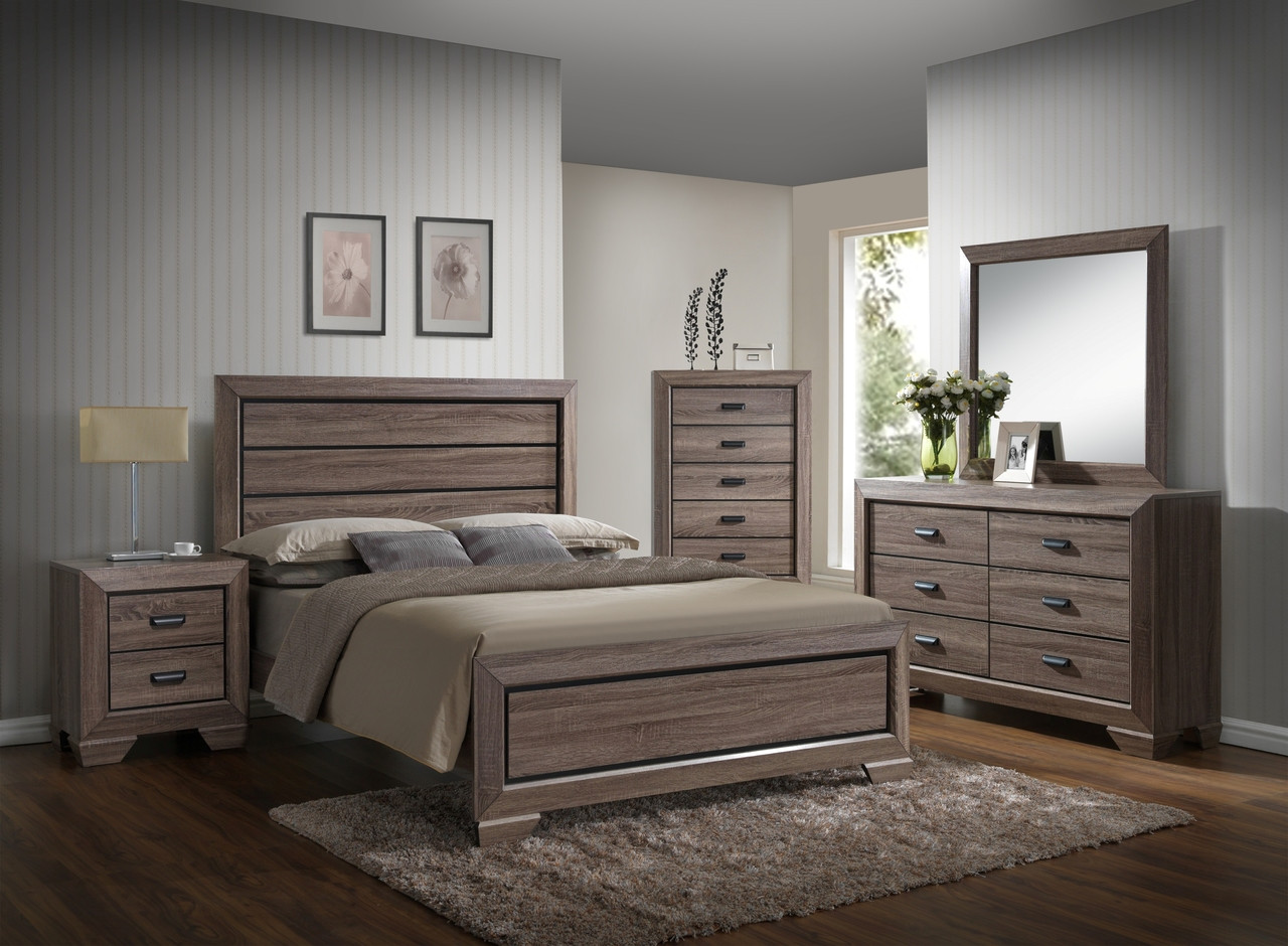 The Farrow 7-Piece Queen Bedroom Set available at Starfine Furniture ...