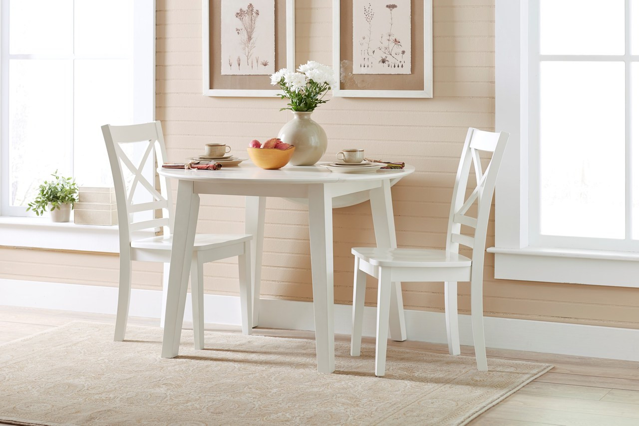 Buy Simplicity Round 5 Piece Dining Set Includes Table And 4 Chairs On Sale Near Houston Friendswood League City Starfine Furniture Mattress