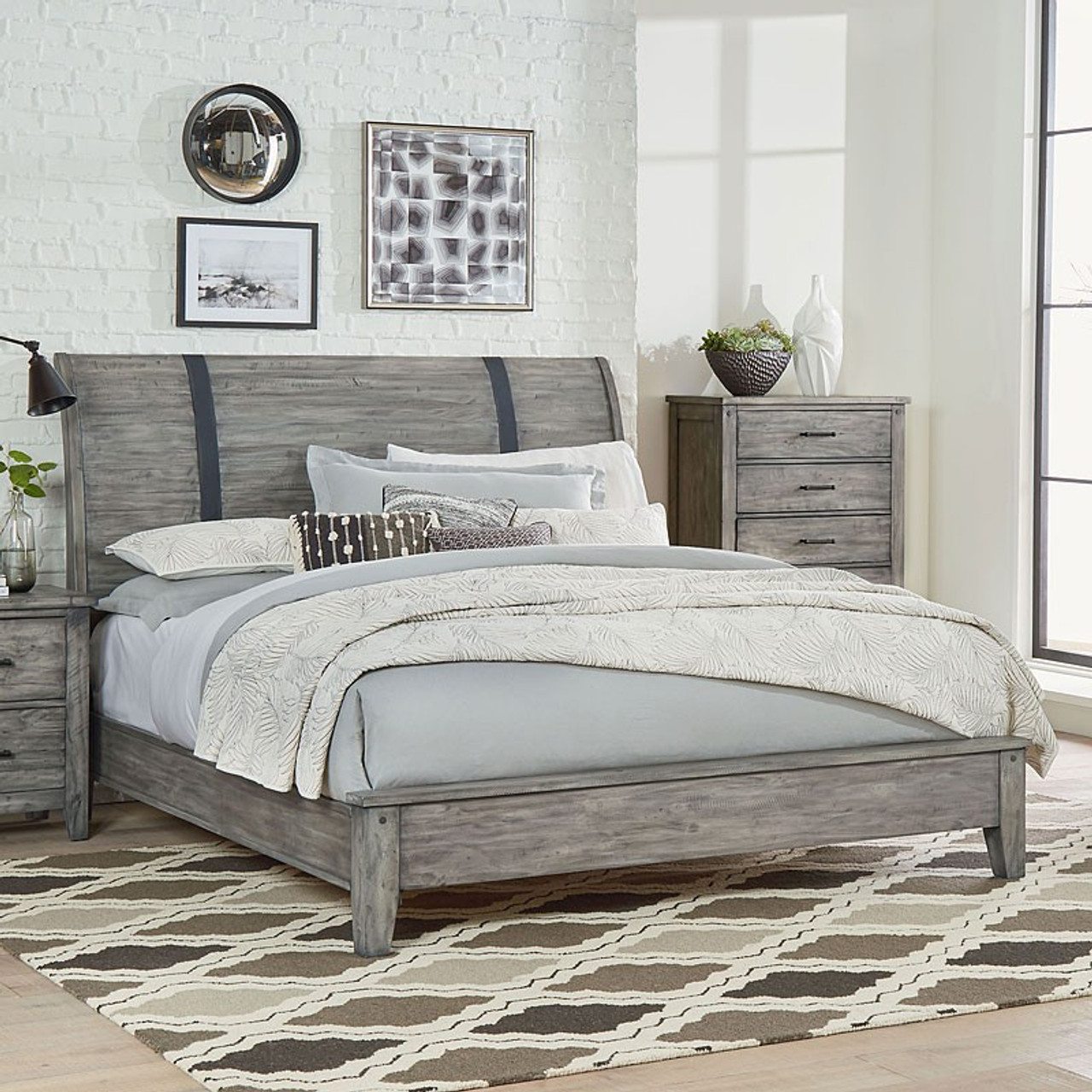 The Nelson 6-Piece Queen Bedroom Set available at Starfine Furniture ...