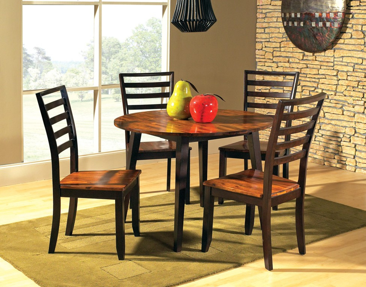 Buy Abaco 3 Piece Round Table Dining Set Includes Table 2 Chairs On Sale Near Houston Friendswood League City Starfine Furniture Mattress