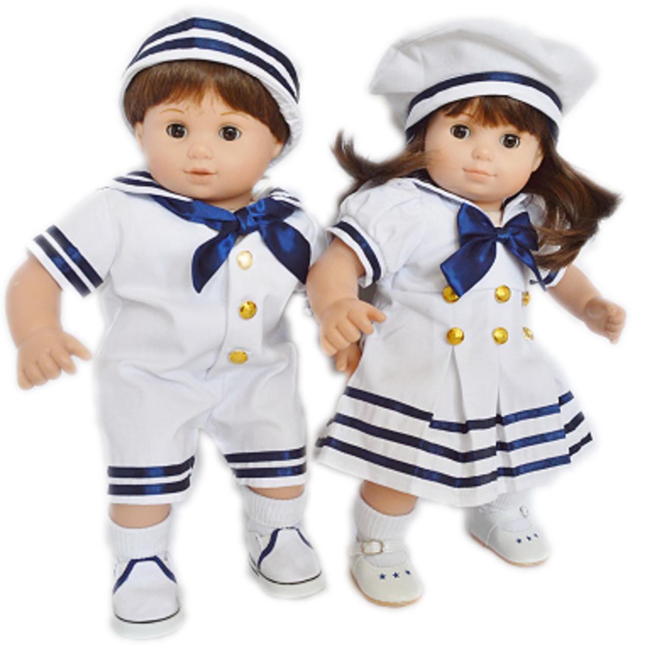 dbd3776d5 Nautical Set For American Girl Dolls Bitty Twins