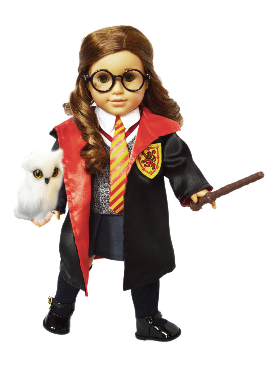 Costume Halloween Hermione.My Brittany S 11 Piece Hermione Set For American Girl Dolls Complete With Hedwig The Owl