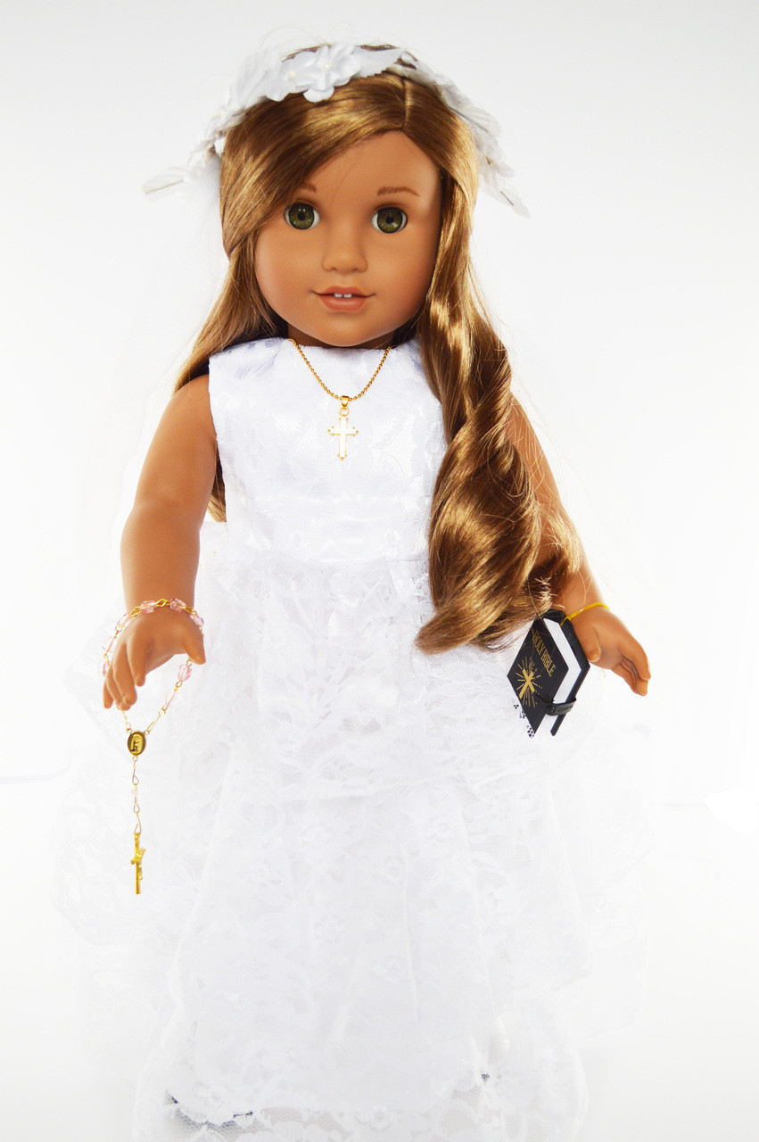 """Doll Sized Bible for 18/"""" American Girl Dolls"""