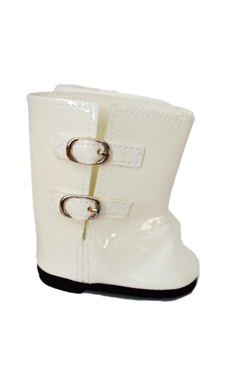 7dc935e7e7c2e My Brittany's White Rain Boots for American Girl Dolls-18 Inch Doll  Boots-Fits My Life as Dolls-Our Generation Dolls-18 Inch American Girl Dolls