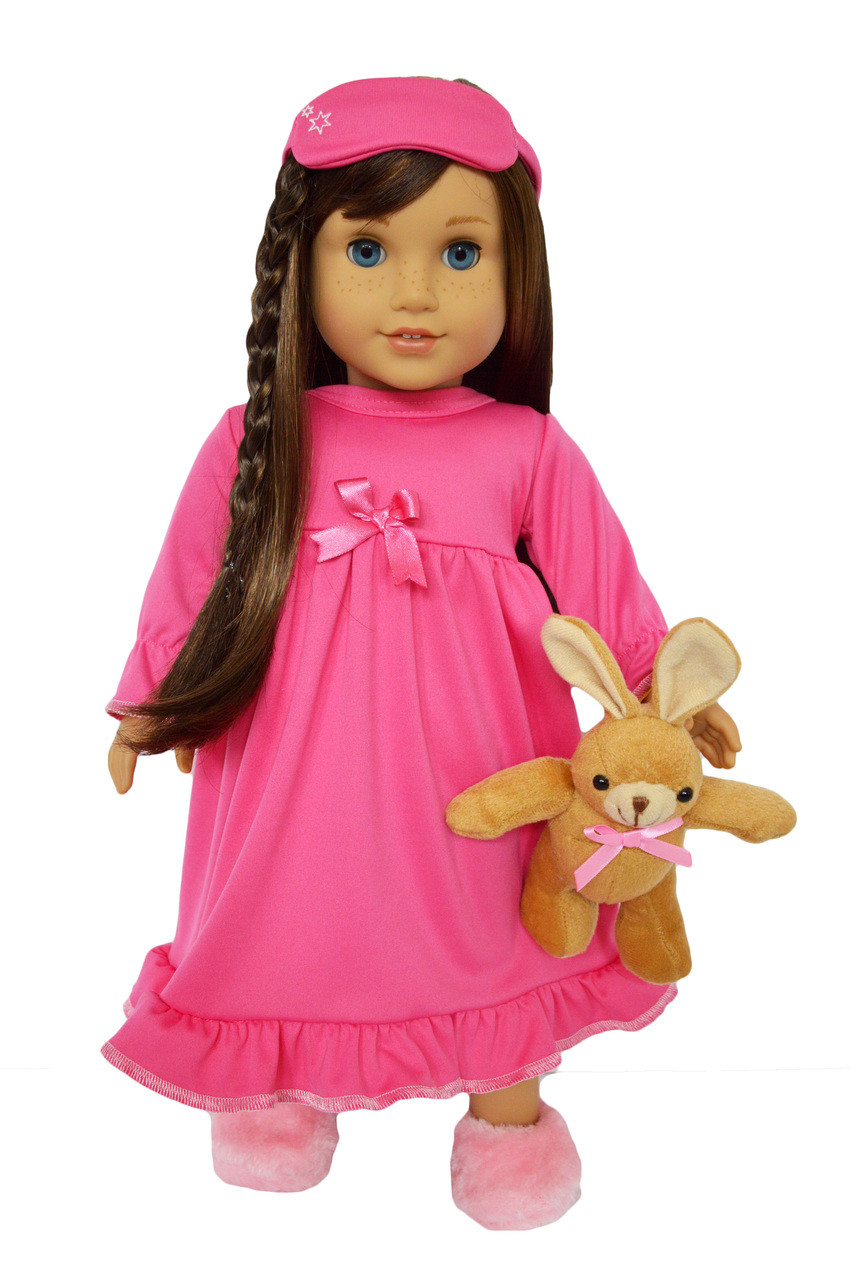 My Brittany/'s PINK STAR NIGHTGOWN FOR AMERICAN GIRL DOLLS
