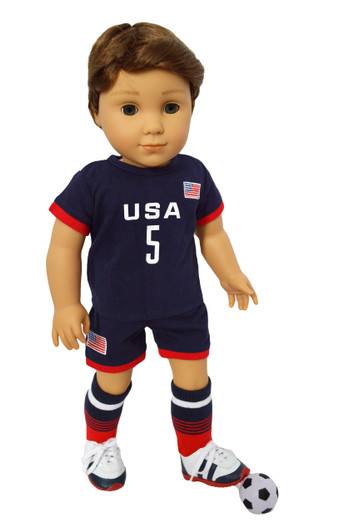 My Brittany/'s Football outfit for American Girl Boy Dolls-Ohio State