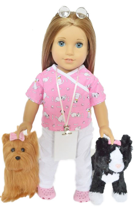 My Brittany's Vet Tech Outfit for American Girl Dolls