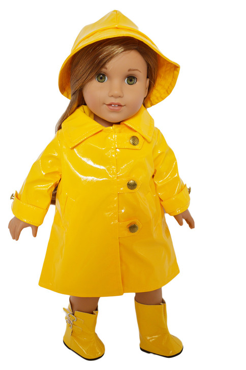 My Brittany's Raincoat with for American Girl Dolls