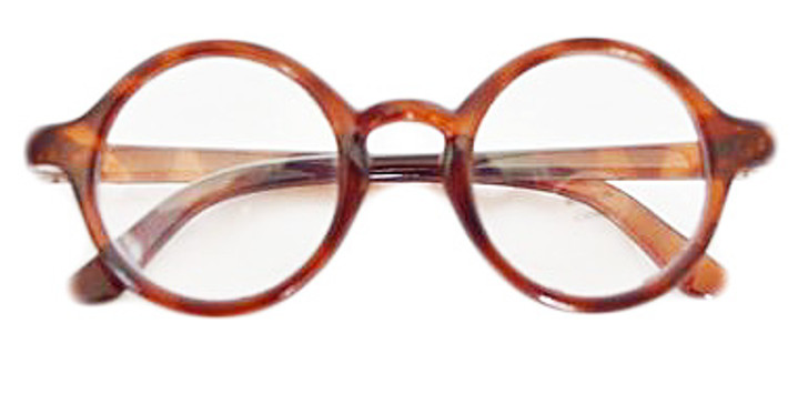 My Brittany Brown Round Glasses for American Girl Dolls-My Life As Dolls-Our Generation Dolls- 18 Inch Doll Glasses