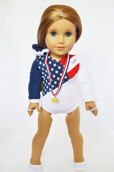 New USA Gymnastics for American Girl Dolls
