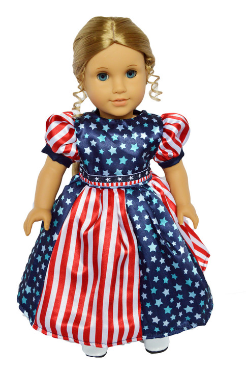My Brittany's Stars and Striped Dress for American Girl Dolls