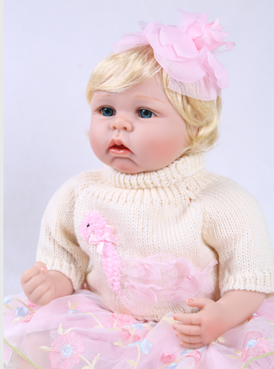 Reborn Doll Little Miss Poutey