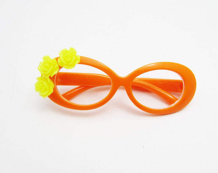 Tropical Orange Glasses For American Girl Dolls