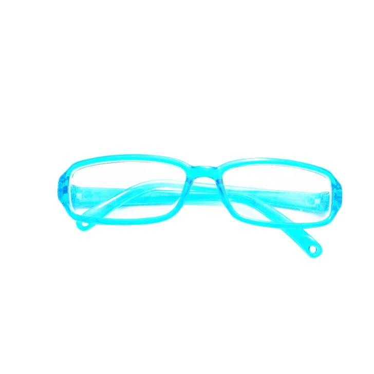 Cyan Blue Modern Glasses for American Girl Dolls