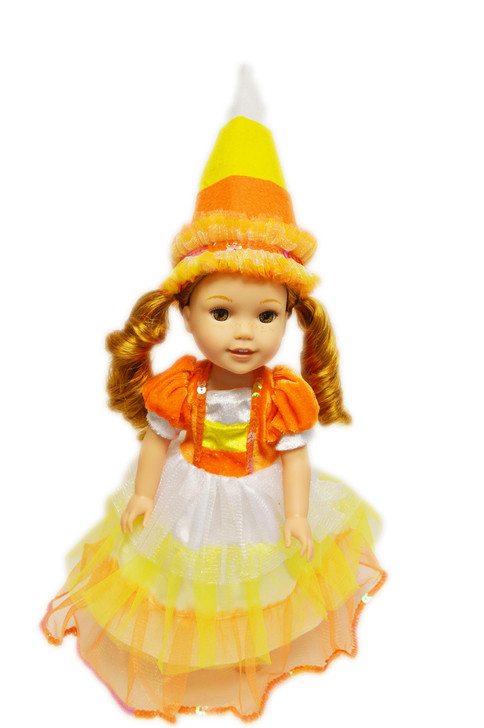 My Brittany's Candy Corn Witch For American Girl Dolls Wellie Wishers
