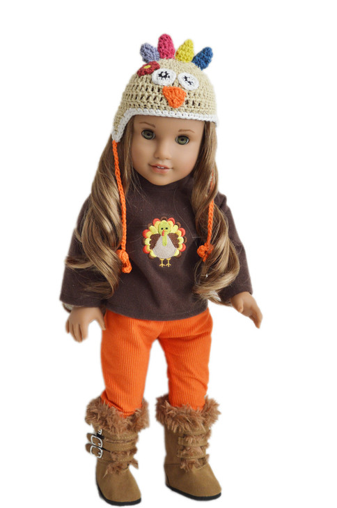 My Brittany's Thanksgiving Day Outfit For American Girl Dolls