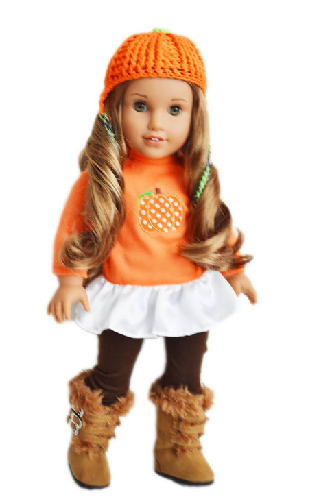My Brittany's Pumpkin Outfit For American Girl Dolls
