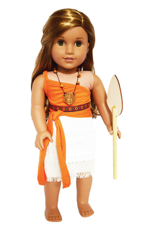 My Brittany's Polynesian Princess Inspired Moana Outfit for American Girl Dolls