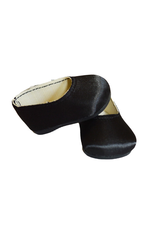 My Brittany's Black Satin Flats for American Girl  Dolls