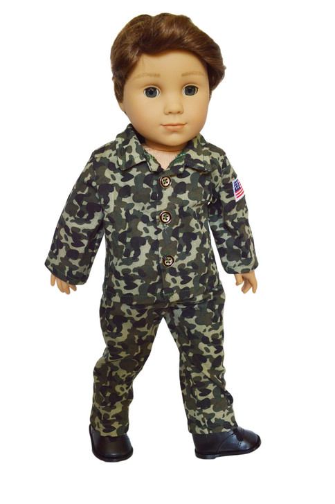 My Brittany's Army Soldier Outfit for American Girl Boy Dolls