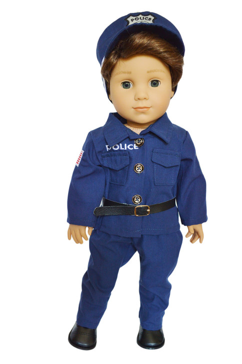 My Brittany's Police Man Outfit for American Girl Boy Dolls