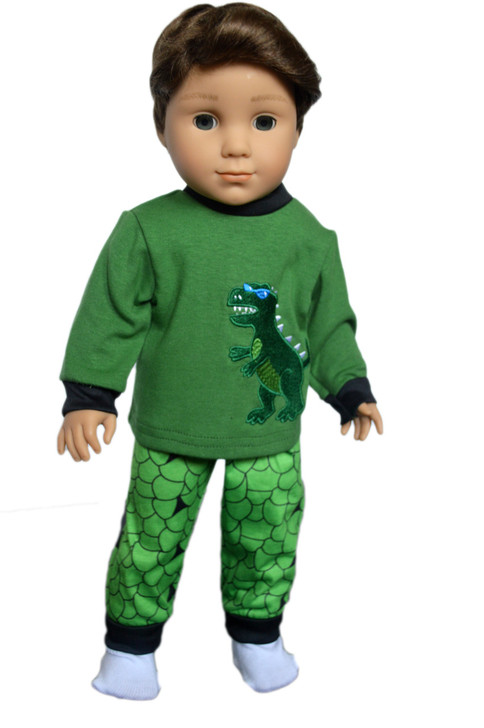 My Brittany's Dinosaur Pjs for American Girl Doll Logan