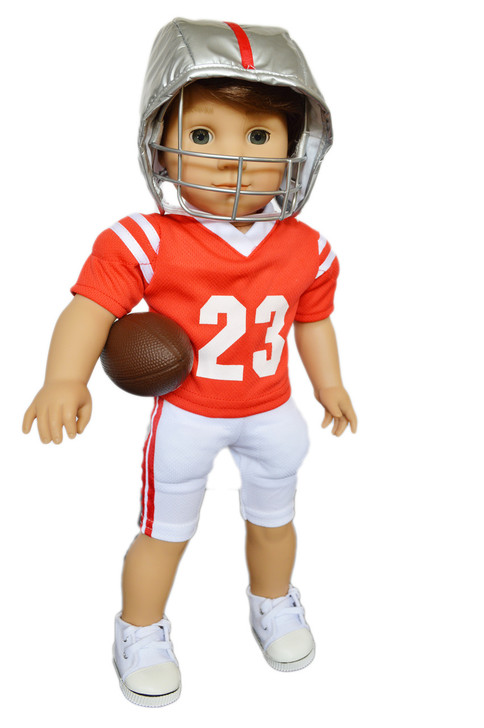 My Brittany's Ohio State Football Outfit for American Girl Doll Logan