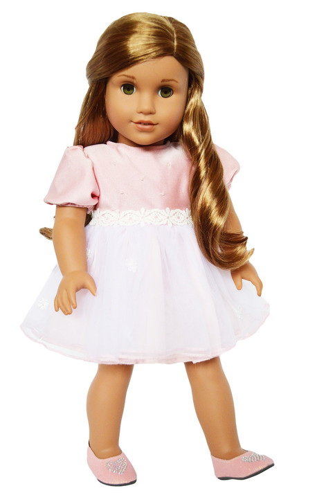 My Brittany's Easter Pink Dress for American Girl Dolls