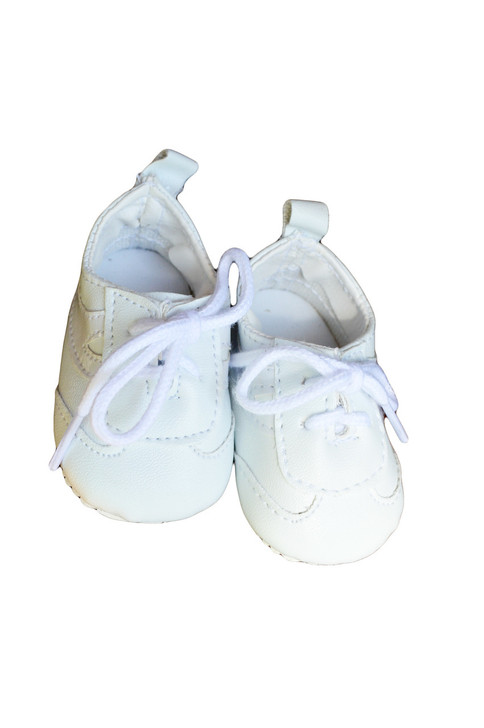 My Brittany's White Leather Tennis Shoes for American Girl Dolls- 18 Inch Doll Shoes