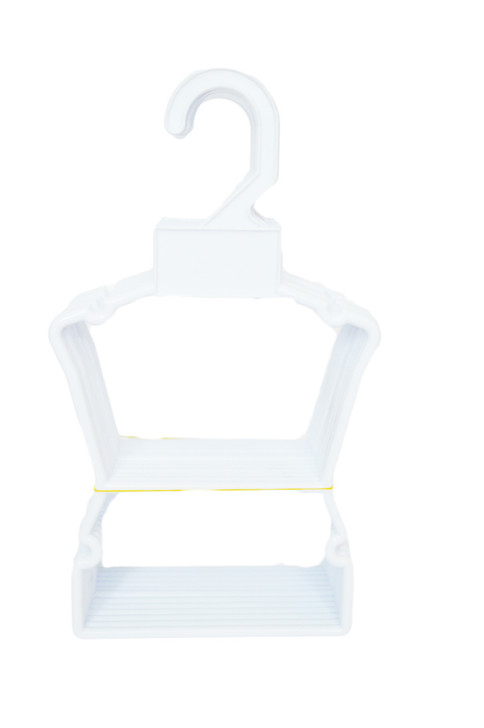 My Brittany's 12 Pack White Display Hangers for American Girl Doll Clothes Hangers
