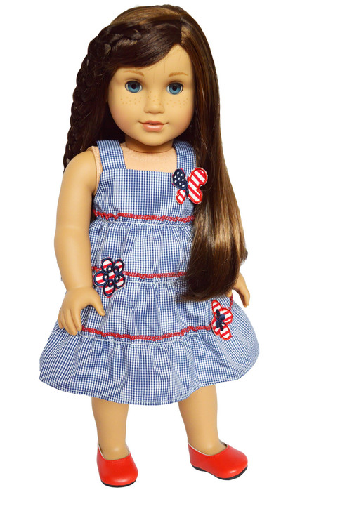 My Brittany's Butterflies in July Dress for American Girl Dolls