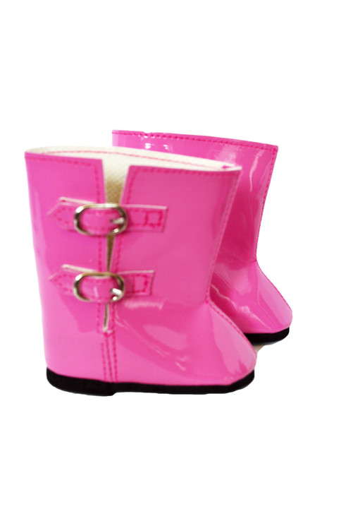 Pink Rain Boots for American Girl Dolls