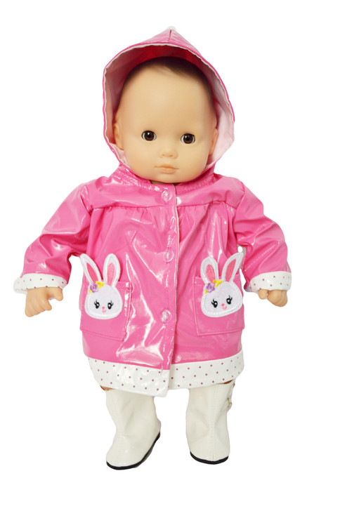 My Brittany's Bunny Raincoat for Bitty Baby Dolls