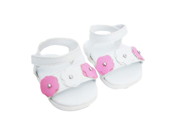 My Brittany's Summer Sandals for Wellie Wisher Dolls,Glitter Girl Dolls and Hearts for Hearts Dolls
