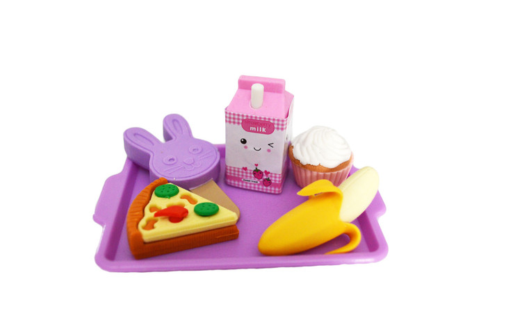 My Brittany's Lavender Lunch Tray for American Girl Dolls- 18 Inch Doll Food