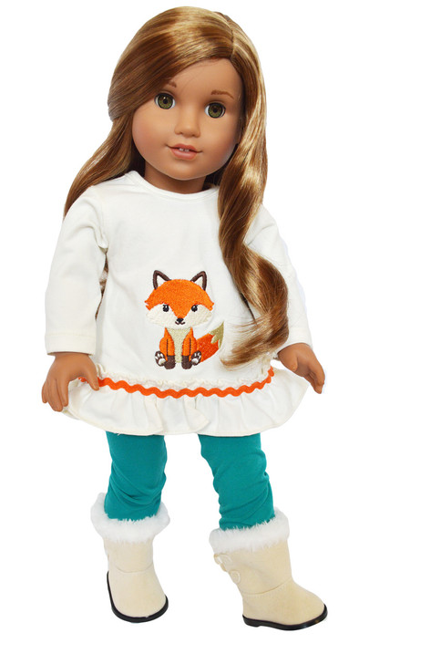 My Brittany's Greenwood Fox Outfit for American Girl Dolls- 18 Inch Doll Clothes
