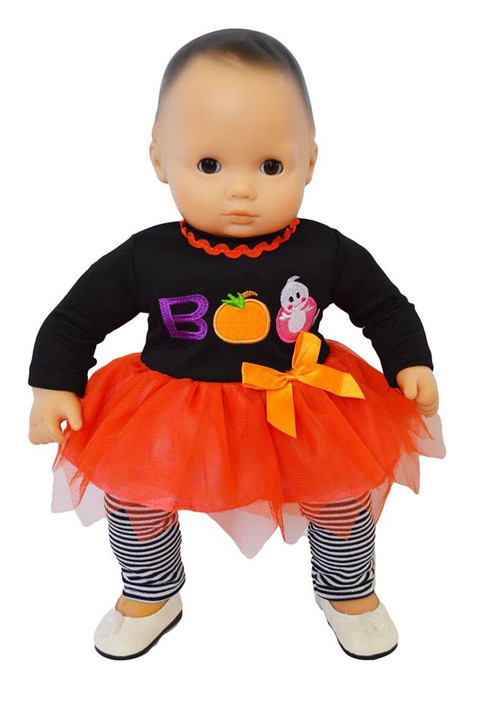 My Brittany's Spooky Boo Outfit for Bitty Baby Dolls- 15 Inch Doll Clothes