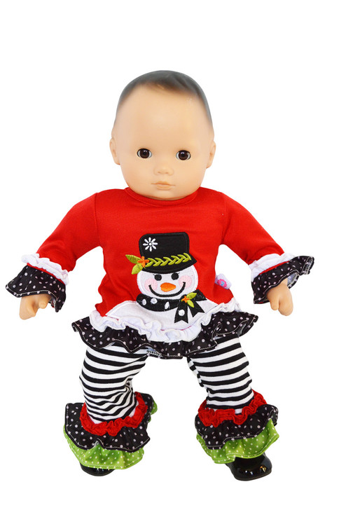 My Brittany's Jolly Snowman Outfit for Bitty Baby Dolls and Bitty Twins Doll- Sold Out