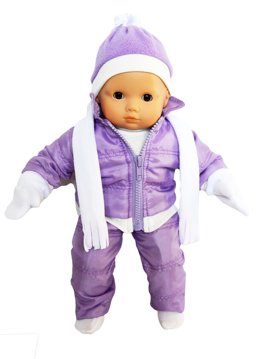 My Brittany's Lavender Snowsuit for Bitty Baby and Bitty Twins Dolls