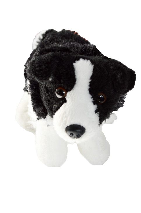 Border Collie Puppy Dog  for American Girl Dolls, Our Generation Dolls and My Life as Dolls