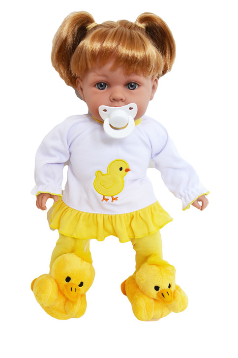 My Brittany's Spring Chick Pj Lounge Set for Bitty Baby Dolls- 15 Inch Doll Clothes