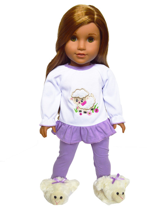 My Brittany's Lamb Pjs for American Girl Dolls
