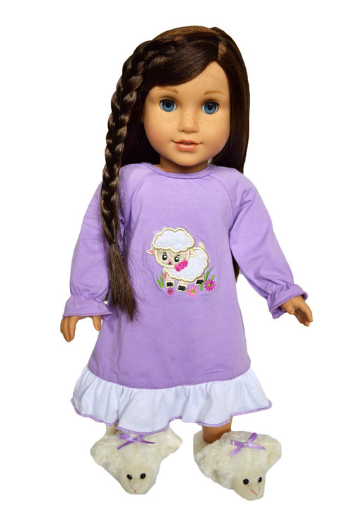 My Brittany's Lamb Nightgown for  American Girl Dolls