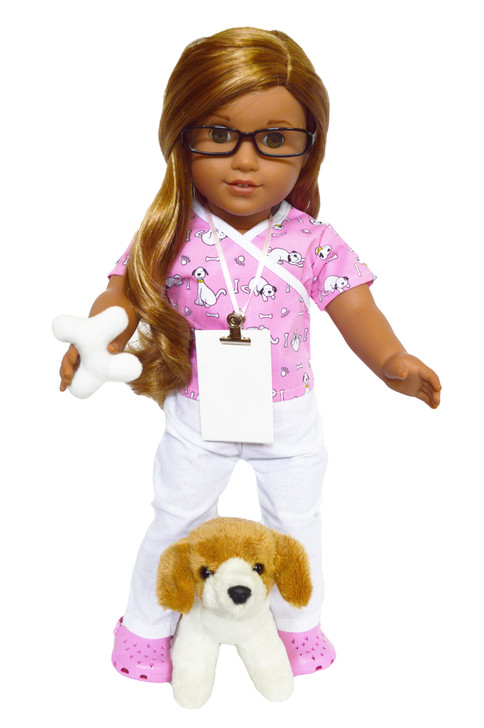Veterinarian Outfit For American Girl Dolls