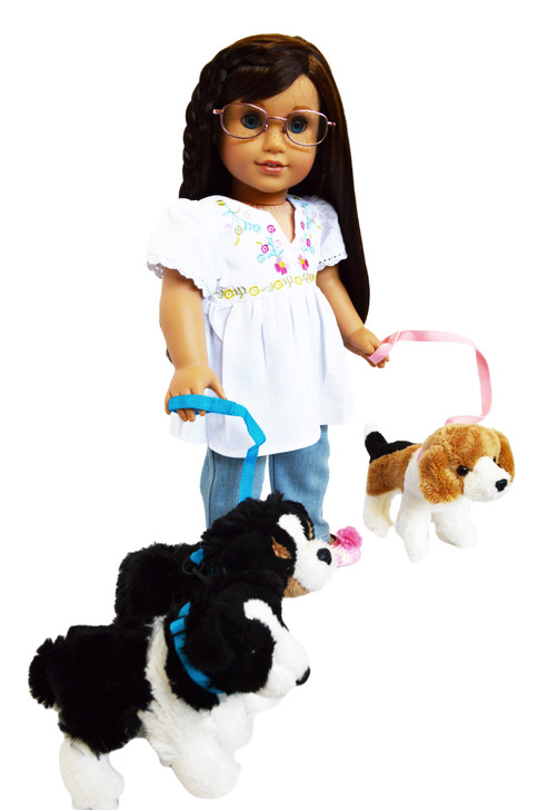 My Brittany's Dog Walker Outfit for American Girl Dolls, Our Generation Dolls and My Life as Dolls