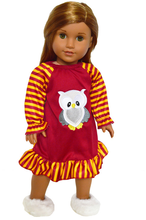 My Brittany's Harry Potter Inspired Nightgown for American Girl Dolls- 18 Inch Doll Nightgown